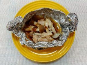 ばかたれ味噌で作るホイル焼き