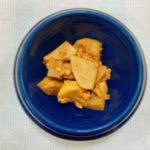 味噌の里芋そぼろ炒め